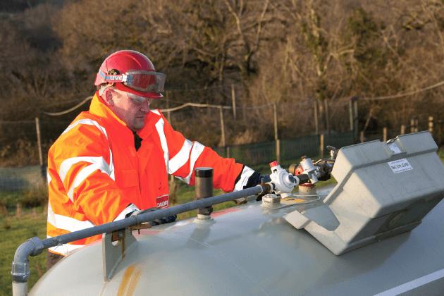 Mogelijkheden tot voorraadbeheer van een propaantank