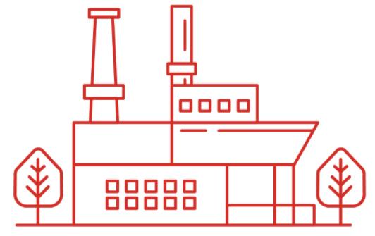 Bio refinery icon