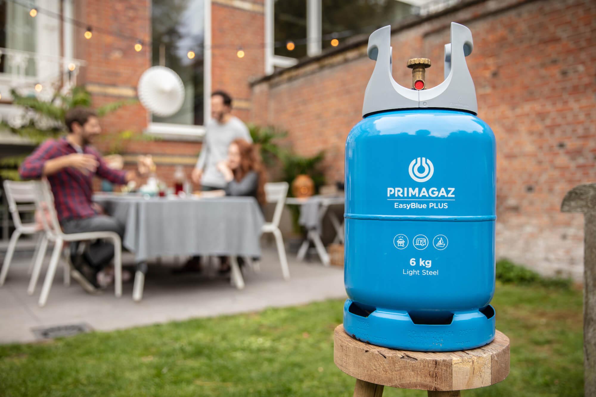 Les bouteilles au biopropane de Primagaz sont idéales pour votre barbecue à gaz