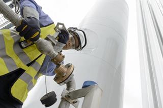Belourthe LNG installatie