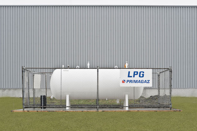 Logiplast installation au propane